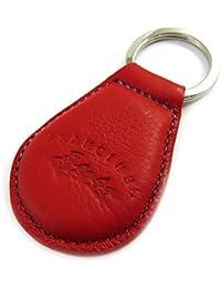 Francinel [L8702] - Porte-clés cuir 'Troubadour' rouge violet
