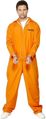 Escaped Prisoner Costume Medium