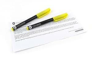 2 x Permanent Ultra Violet UV Marker Pen. Ultra Violet Security Markers