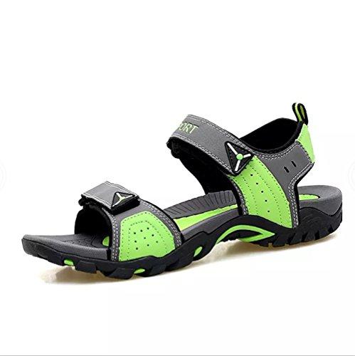 Sandalias Verano Mujer Deportivas Trekking Zapatillas Playa Senderismo Zapatos Cuero Velcro Pescador...