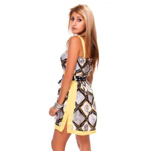 24brands - Mini robe - Femmes Gelb