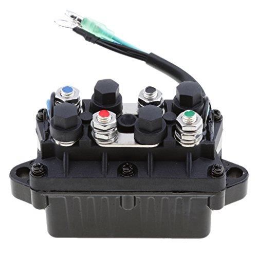Sharplace 2-Draht-Trim-Relais Für Yamaha Außenborder 4-Takt-Motor 40-90 PS Teil # 63p-81950-00-00 (Bootsmotoren Aussenborder 40 Ps)