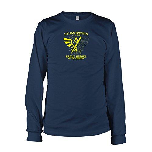 TEXLAB - Hylian Knights - Langarm T-Shirt Dunkelblau