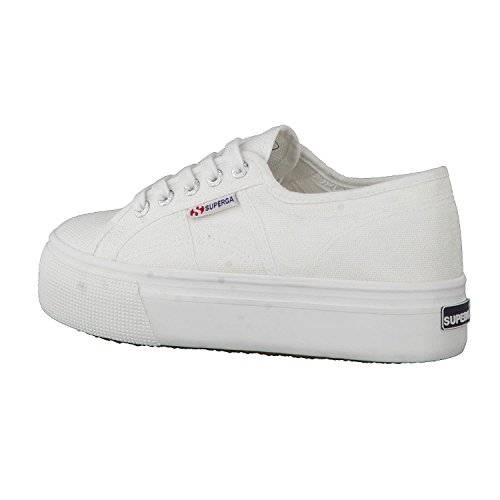 Superga Damen Acotw Linea Up and Down Sneaker Weiß