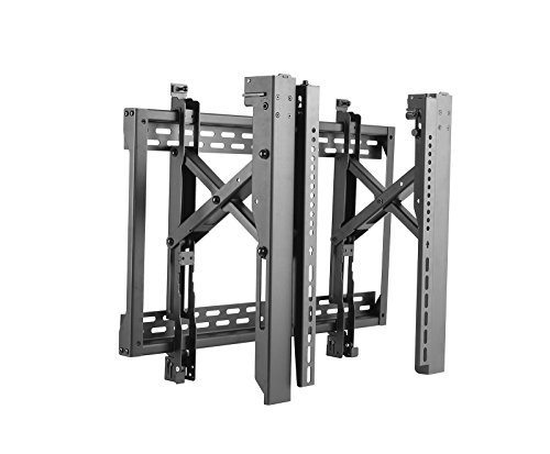 """Allcam ACVW646 Video Wall Mount Bracket Module for 40-70"""" LCD LED TVs up to 70 kg & VESA 600x400, 3D-Micro Adjustment & Push to Pop-Out"""