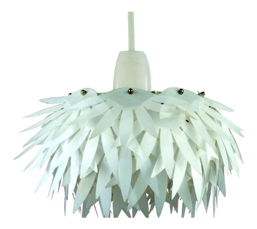 new-chrome-white-grass-skirt-non-electrical-pendant-light-shade-cass