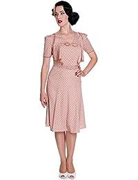 Hell Bunny Jennifer Rockabilly Robe Style Retro Vintage Années 40 50