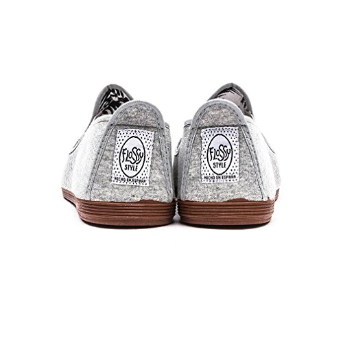 Flossy Classic Plimsoll Arnedo Homme Chaussures Gris Gris