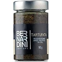 Salsa tartufata al tartufo estivo (Tuber aestivum Vitt.) e funghi 180gr - Bernardini Tartufi
