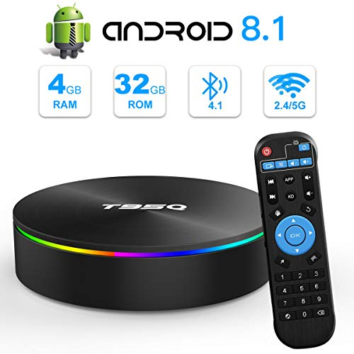 Android TV BOX, T95Q Android 8.1 TV BOX 4 GB RAM 32...