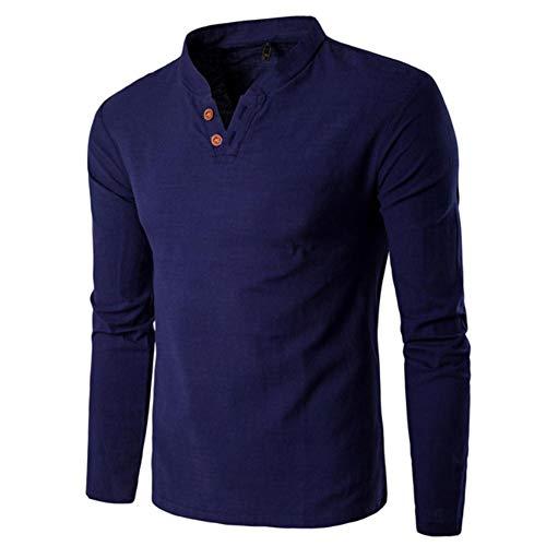 Herren Lange Ärmel T-Shirts Langarmshirts Hemden Pullover Basic Sweater Shirts Tops Sportbekleidung