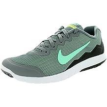 Nike Men s Flex Experience RN (Cl Gry/Grn Glw/Anthrct/Ghst Gr) Running Shoe Grau 36 B(M) EU/3 B(M) UK