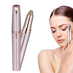 Eyebrow shaving, painless eyebrow shaver trimmer hair remover, eyebrow epilator hair removal, with 1 spare shaver