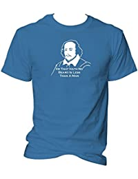 Shakespeare Beard Quote T Shirt Much Ado About Nothing