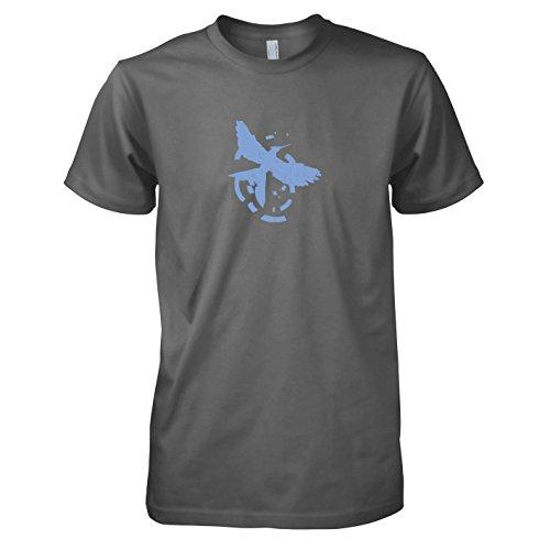 Zorn - Herren T-Shirt, Größe L, grau ()