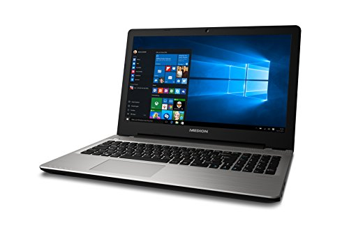 Medion Akoya E6415 MD 60391 396 cm 156 Zoll mattes HD showcase Notebook Intel core i3 5005U 8GB RAM 256GB SSD Intel HD Grafik Win 10 your home silber Notebooks
