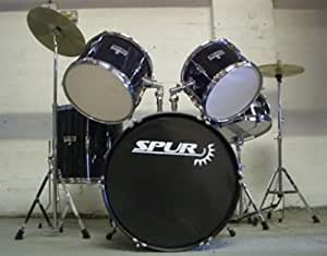 Spur RSCK1 Acoustic Drumkit | Black | Exclusive to Rimmers Music
