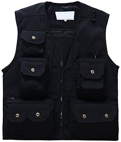 Mochoose Uomo Multi-tasca Vest Giacca Caccia / Pesca / Fotografia