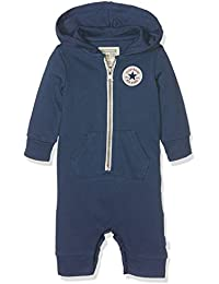 Converse C.T.P Core Coverall Hoodie 6-9M, Capucha para Bebés, Blue (All Star Navy), 9 Mes