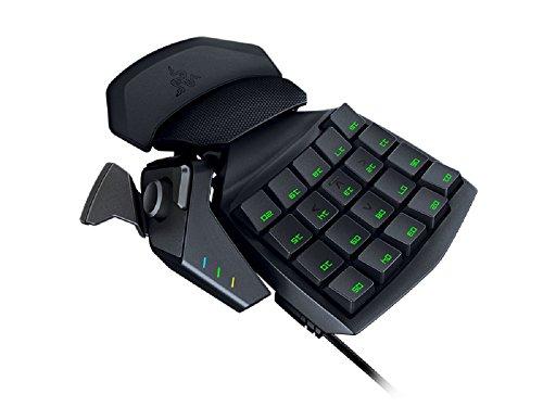 Razer Orbweaver 2014 mechansches Gaming Keypad (30 programmierbare Tasten, 8-Wege-Navigationsfeld) schwarz -