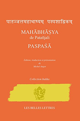 Mahbhya de Patajali. Paspa