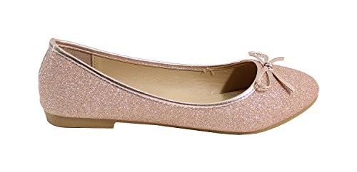 By Shoes, Damen Ballerinas Champagne