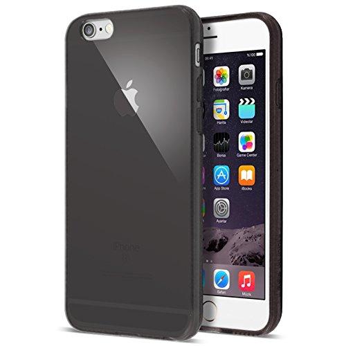 Case BuddyTM Coque de protection en gel transparente et film de protection d'écran pour iPhone 5S5 gris