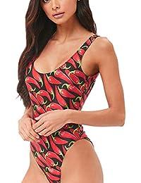 9cf0cf35f375f Camisolas Sexy Bikinis Tallas Grandes Mujer Espalda Abierta Ropa de baño  Mono POLP Bañadores de Mujer