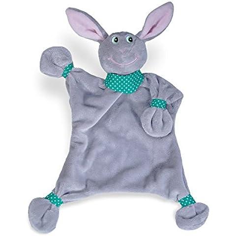 blankey Pets Conejo de–Manta de seguridad de peluche
