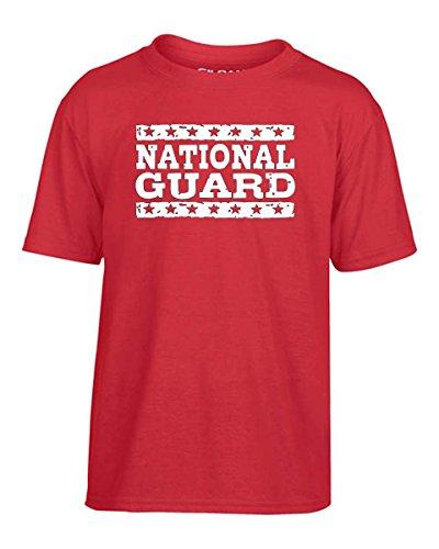 T-Shirtshock - T-shirt Kinder OLDENG00769 national guard, Größe 9-11jahre (T-shirt Guard National)
