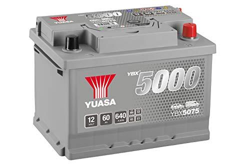 Yuasa YBX5075 Batteria Avviamento, Silv