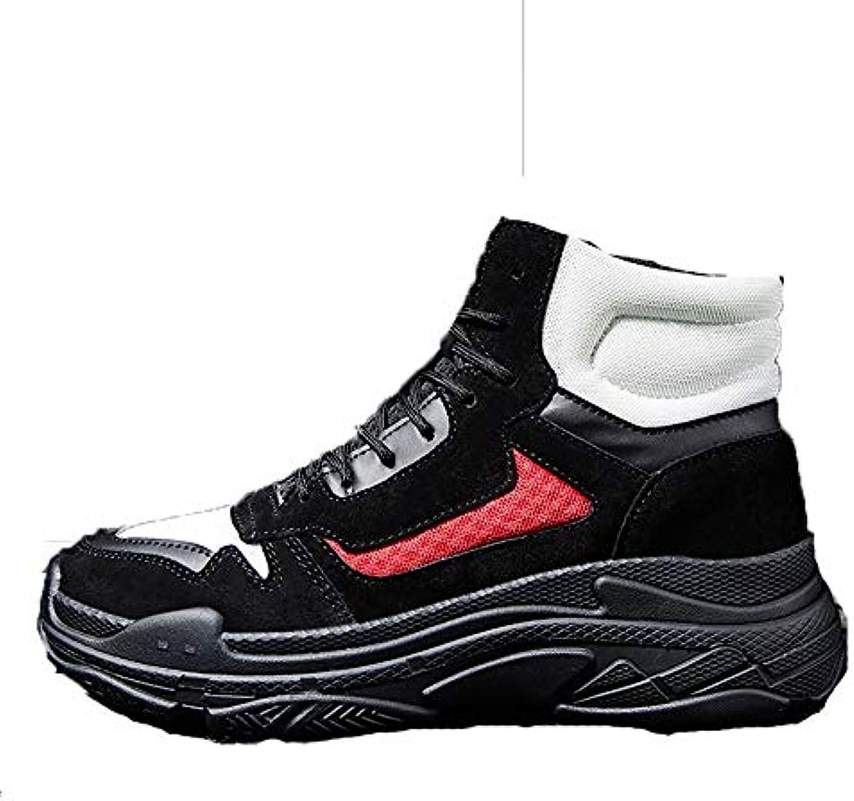 ETYGYH Sauvage Sneakers Homme, Hiver Haute Tendance Sauvage ETYGYH Chaussures Casual Tendance Plus Velours Chaussures de Sport... e2bdcb