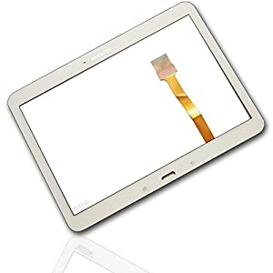 Samsung Galaxy Tab 4 10.1 T530 T535 Touchscreen Display Front Glas Digitizer Scheibe+Kleber weiss