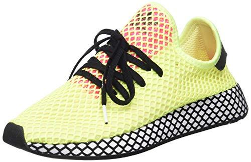 adidas Herren Deerupt Runner Fitnessschuhe, Mehrfarbig (Amalre/Negbás/Rossho 000), 42 2/3 EU - Männer Original Adidas Schuhe