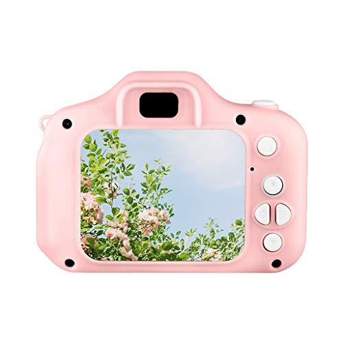 Digitalkamera Spielzeug für Kinder Kinder Digitalkamera Kleinkind Kameras Kind Camcorder Mini Cartoon wiederaufladbare Kamera (Rot)