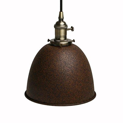 Pathson Industrie Loft Pendelleuchte Antik Deko Design Metall Schirm Innen Hngeleuchte Vintage Hngelampen Pendelleuchten
