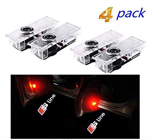 Bodhi 4 X LED Logo del Portello di Automobile di Illuminazione Entrata Proiettore Ombra di Benvenuto della Lampada della Luce