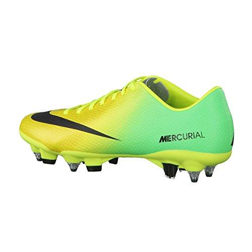 Nike - Mercurial veloce sg pro - Chaussures football vissées Jaune