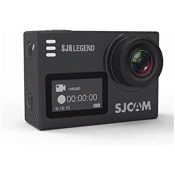 SJCAM SJ6LEGEND 4K Wifi Action Camera Dual Screen- 2.0 TouchScreen/ 0.9 Front LCD Screen/ 170 Degree Wide Angel/ Gyro Stabilization/ External Microphone Supported