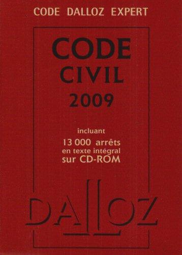 Code civil 2009 (1Cédérom)