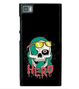 PrintVisa Halloween Party Night High Gloss Designer Back Case Cover for Xiaomi Redmi Mi3