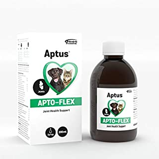 Aptus Apto-Flex Joint Supplement (200ml) For All Dogs & Cats | With Powerful Collagen, MSM, Glucosamine, Chondroitin, Hyaluronic acid & Cranberry