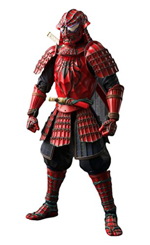 Bandai Tamashii Nations BTN06234-9 - Marvel Comics Meisho Manga Realization Samurai Spider-Man Actionfigur, 18 cm