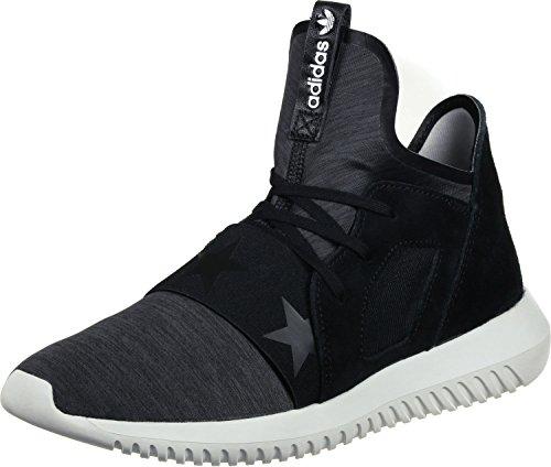 adidas Tubular Defiant W Black Black White Noir