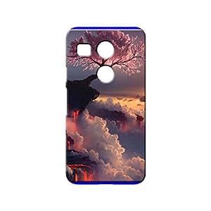 BLUEDIO Designer 3D Printed Back case cover for LG Nexus 5X - G7274