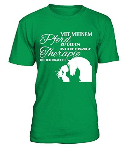 Pferd Shirt · Pferde · Reiten · Reiterin · Reitsport · Springreiten · Pferdehalt Männer T-Shirt