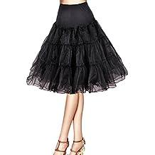 "Flora® 50er Jahre Kleid Vintage Retro Reifrock Petticoat Unterrock, 25"" Länge Underskirt"