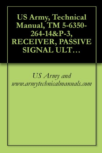 US Army, Technical Manual, TM 5-6350-264-14&P-3, RECEIVER, PASSIVE SIGNAL ULTRASONIC, R-1860/FSS-9(V), (NSN 6350-00-228-2534), AND PROCESSOR, PASSIVE SIGNAL (English Edition)
