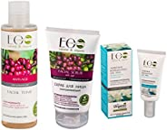 EO Laboratorie natural & organic Organic Anti-Age Skincare Set With Hyaluronic Acid, Sulfate, Silicon &