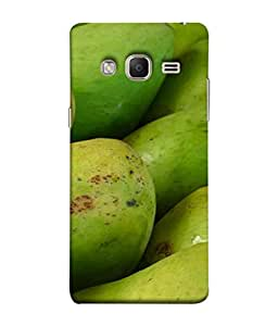 FUSON Designer Back Case Cover for Samsung Galaxy Z3 Tizen :: Samsung Z3 Corporate Edition (Jungle Sweet Villages Fruits Hapoos Langda )